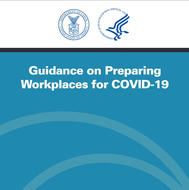 Image of Guidance for Workplaces